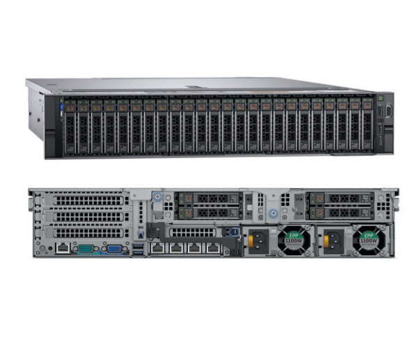 Dell PowerEdge R740XD Gold 5118 2.5″ HDD BASE