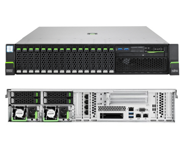 Fujitsu Primergy RX2540 M4 Gold 5115 2.5″ HDD BASE