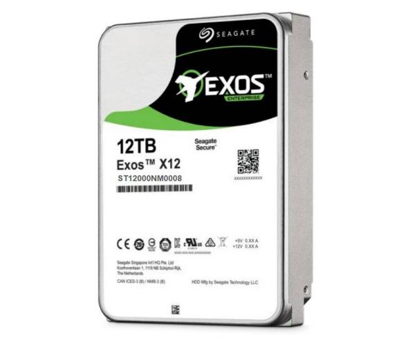 Seagate Exos X12 12TB SAS 12Gb/s 512e 7200RPM 256MB 3.5in