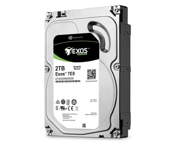 Seagate Exos 7E8 2TB SAS 12Gb/s 512e 7200RPM 256MB 3.5in