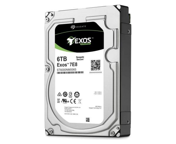 Seagate Exos 7E8 6TB SAS 12Gb/s 512e 7200RPM 256MB 3.5in