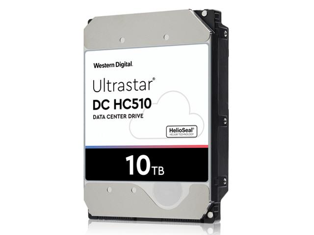 WD Ultrastar DC HC510 10TB SAS 12Gb/s 7.2K RPM 256MB 3.5in