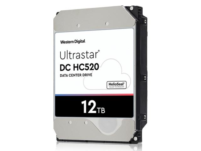 WD Ultrastar DC HC520 12TB Sata 6Gb/s 7.2K RPM 256MB 3.5in