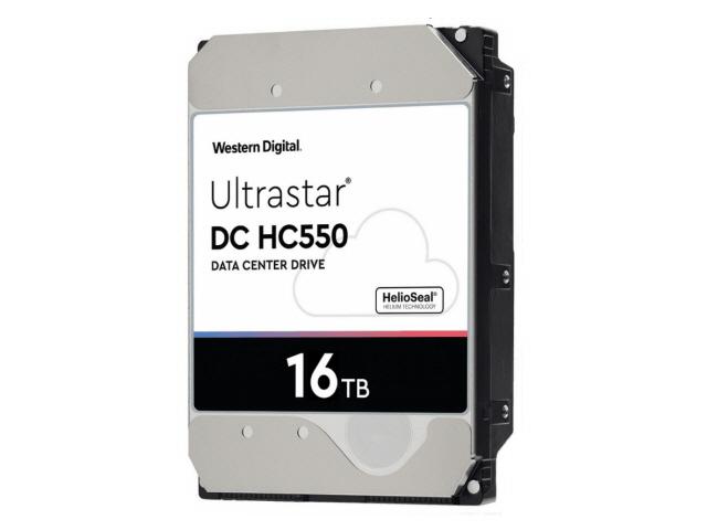 WD Ultrastar DC HC550 16TB Sata 6Gb/s 7.2K RPM 512MB 3.5in