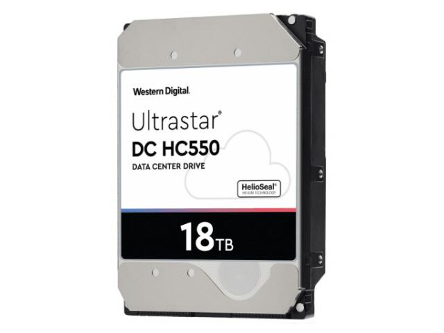 WD Ultrastar DC HC550 18TB Sata 6Gb/s 7.2K RPM 512MB 3.5in
