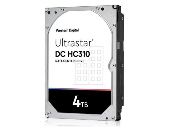 WD Ultrastar DC HC310 4TB SAS 12Gb/s 7.2K RPM 256MB 3.5in