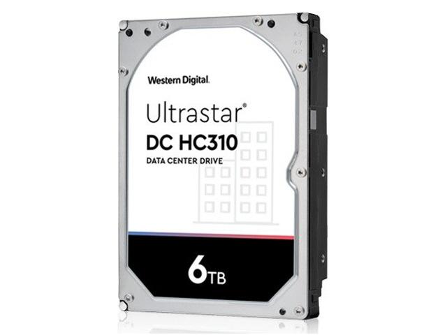 WD Ultrastar DC HC310 6TB SAS 12Gb/s 7.2K RPM 256MB 3.5in