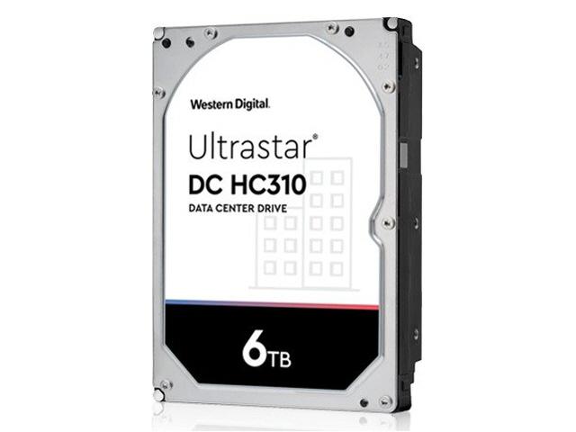 WD Ultrastar DC HC310 6TB Sata 6Gb/s 7.2K RPM 256MB 3.5in