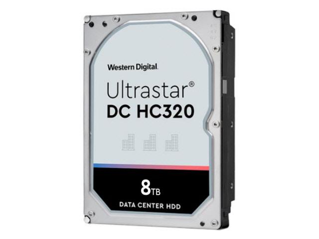 WD Ultrastar DC HC320 8TB SAS 12Gb/s 7.2K RPM 256MB 3.5in