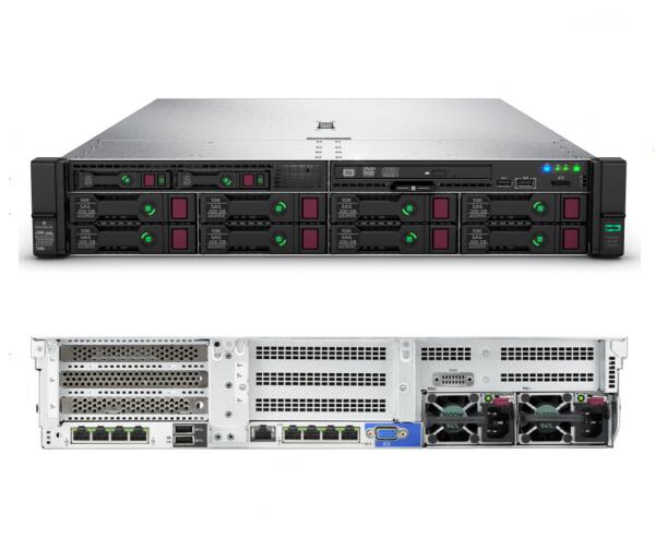 HPE ProLiant DL380 Gen10 8LFF CTO Server / S4214