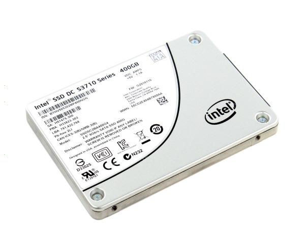 Intel® SSD DC S3710 Series (400GB, 2.5in SATA 6Gb/s, 20nm, MLC)