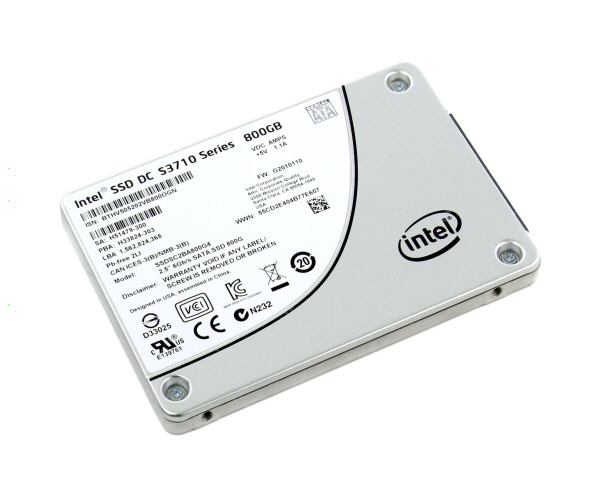 Intel® SSD DC S3710 Series (800GB, 2.5in SATA 6Gb/s, 20nm, MLC)