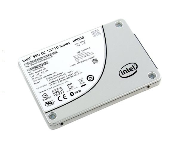 Intel® SSD DC S3710 Series (1.2TB, 2.5in SATA 6Gb/s, 20nm, MLC)