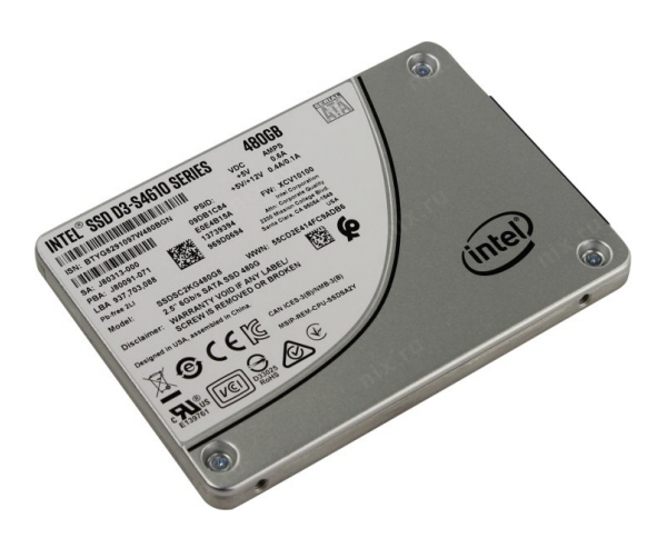 Intel® SSD D3-S4610 Series (1.92TB, 2.5in SATA 6Gb/s, 3D2, TLC)