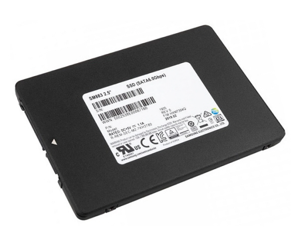 SSD Samsung SM883 240GB Sata3 6Gb/s VNAND 2.5in