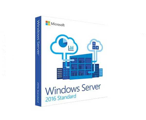 WinSvrStd 2016 64bit English 1pk DSP OEI DVD 16 Core
